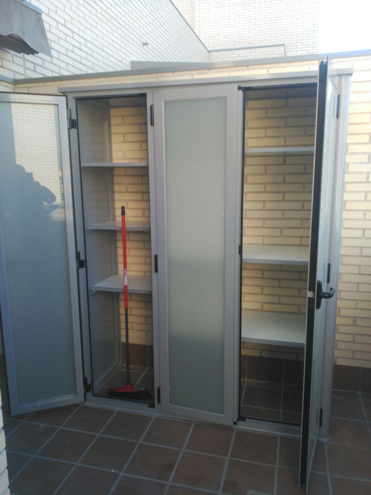 Armario para caldera exterior elegant armarios para instalados al exterior with armario para - Armario para caldera exterior ...