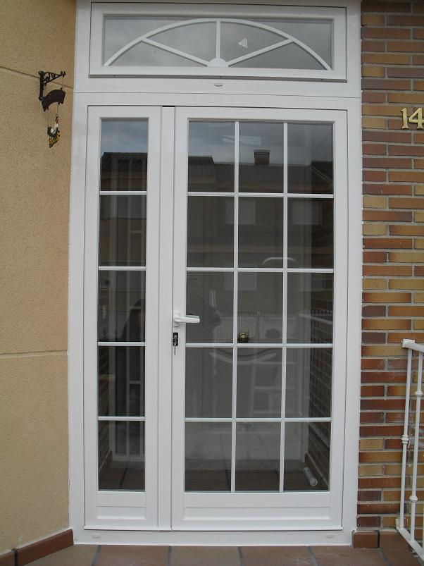 Dise o e instalaci n de buhardillas y porches en madrid - Puertas blancas exterior ...